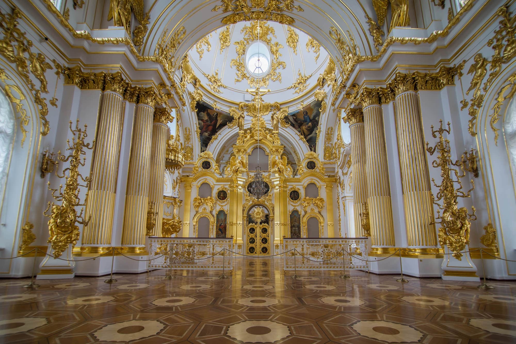 Большая Церковь Зимнего Дворца