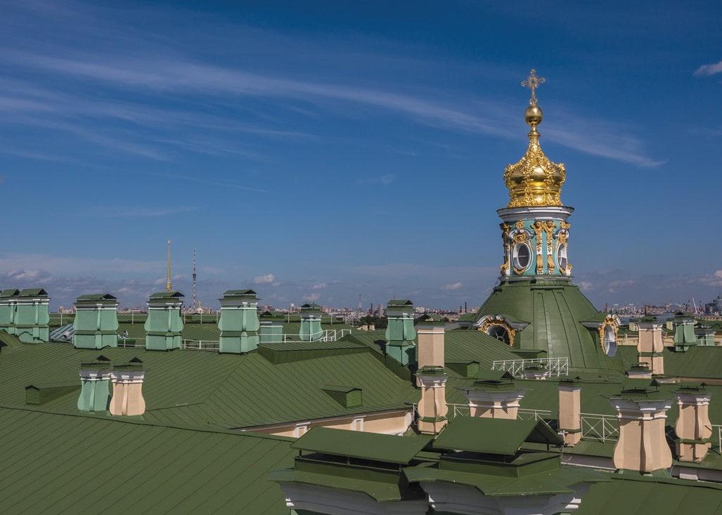 Купол Большой Церкви Зимнего дворца